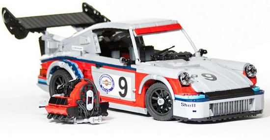 Lego Porsche Racing Cars