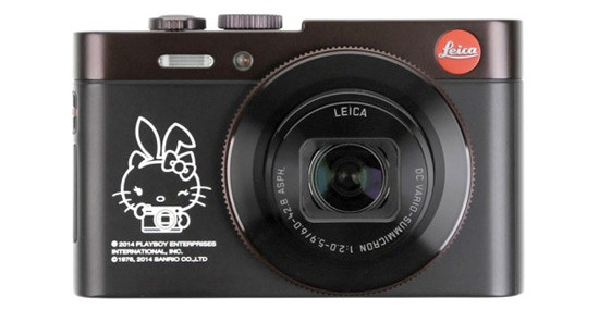Leica X Hello Kitty X Playboy Camera for Colette