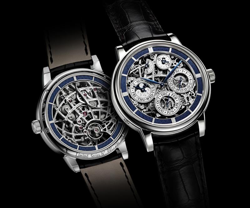 Jaeger-LeCoultre Master Grande Tradition à Quantième Perpétuel 8 jours SQ pays tribute to 1928 pocket watch