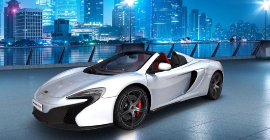 Time to configure your McLaren 650S