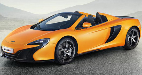 Surprise On The Geneva Motor Show Is McLaren 650S Spider