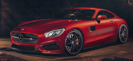 Mercedesa AMG GT Will Have Its Premiere On July 20