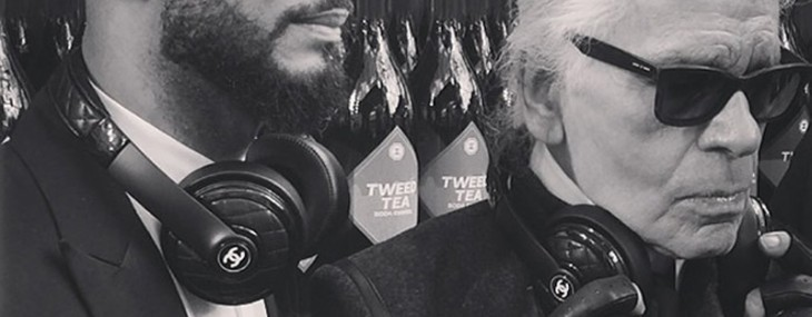 Swizz Beatz teases Monster headphones collaboration with Chanel at Paris Fashion Week