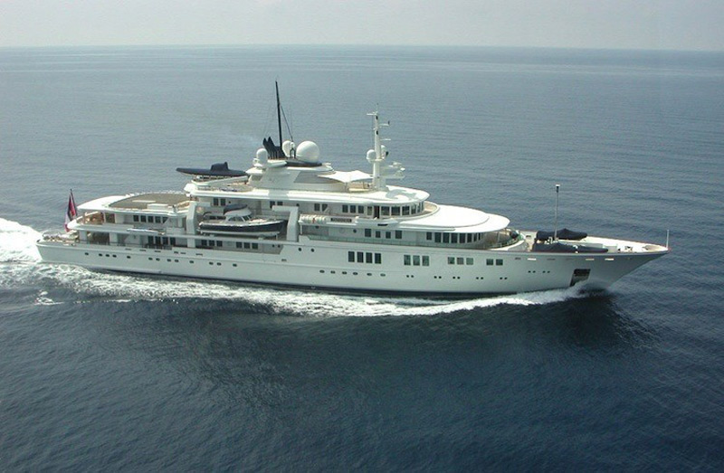 Microsoft Billionaire Paul Allen Takes His $160 Million Megayacht Off the Market