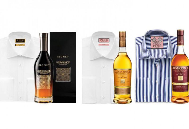 Glenmorangie teams with luxury shirt brand Thomas Pink for the 'Perfect Pairings'