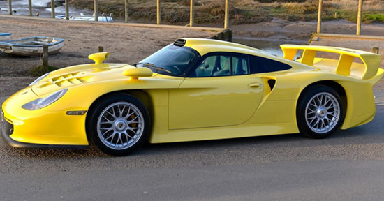 Porsche 911 GT1 Evo Strassenversion On Sale