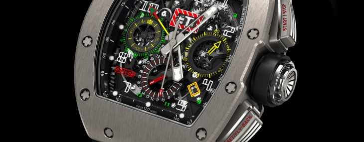 ichard Mille 11-02  Automatic Flyback Chronograph Dual Time Zone