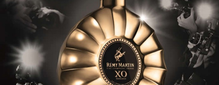 Remy Martin XO Excellence decanter is exclusively made for the Cannes festival