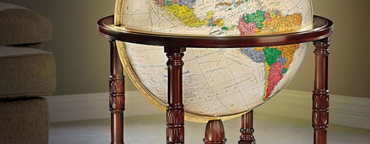 The world's most detailed globe costs $13,000 and has 7X more listed places