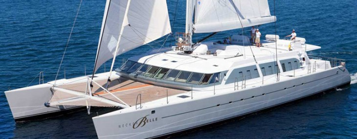 Enjoy Richard Branson's Necker Belle Catamaran Before Sells