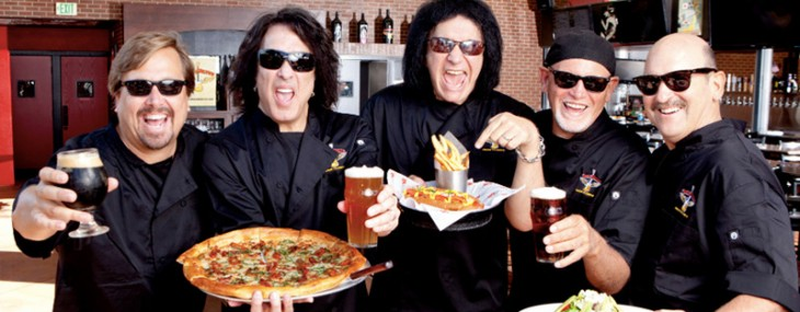 KISS – Paul Stanley And Gene Simmons Opens Rock & Brews Paia, Maui