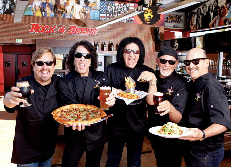 Rockstars Turned Restaurateurs: Gene Simmons & Paul Stanley Roll Out New Rocks & Brews