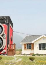 Unique Rolleiflex Camera House In South Korea