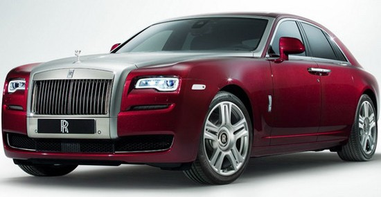 Rolls-Royce Ghost Series II At Geneva Motor Show