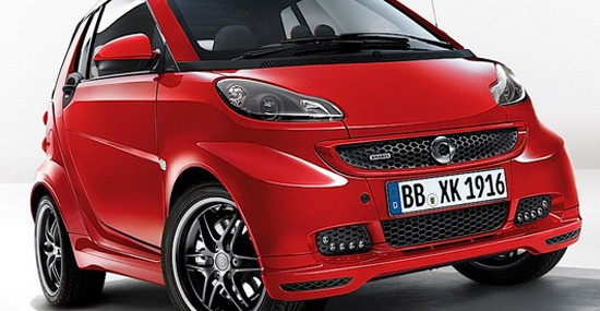 Smart ForTwo is again passed through the hands of people from Brabus