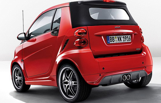 smart fortwo brabus xclusive red edition extravaganzi. Black Bedroom Furniture Sets. Home Design Ideas