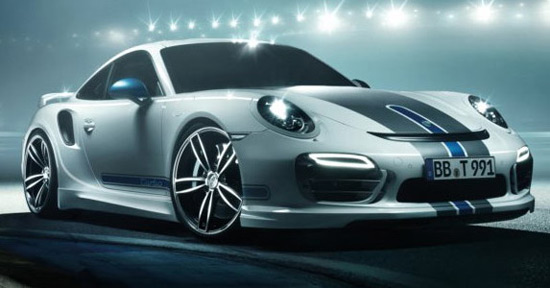 TechArt Porsche 911 Turbo At Geneva Motor Show
