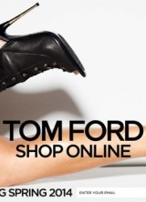 Tom Ford's Ready-to-wear Options Will Be Available Via the Web
