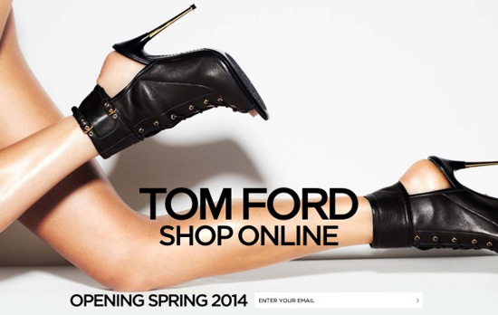 Tom Ford to launch e-commerce