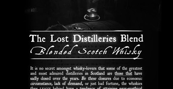 The Blended Whisky Company Wins World's Best Blended Whisky at World Whiskies Awards for 'The Lost Distilleries Blend'.