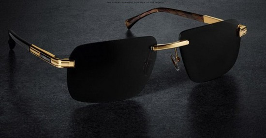 Zilli Has Launched A Unique Gold Sunglasses
