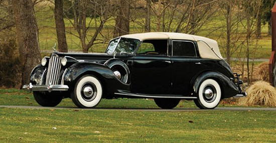 Auctions America Offers 1939 Packard Twelve Touring Cabriolet by Brunn