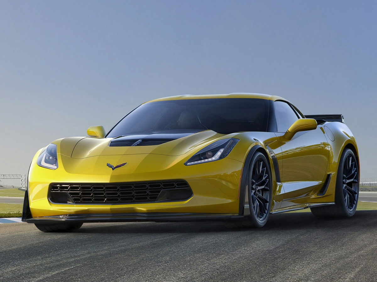 2015 Chevrolet Corvette Z06 Coupe Sold For $1Million