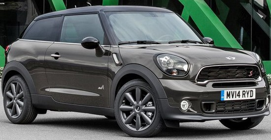 Restyled 2015 Mini Paceman
