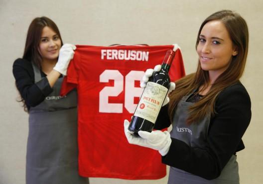 Alex Ferguson's Wine Collection Worth $5 Million on Sale
