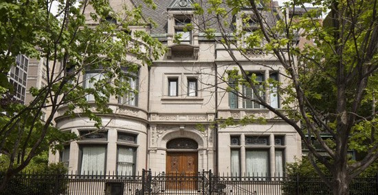 Ann Lurie's Mansion in Chicago Without Side Yard on Sale for $15 Million