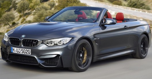 BMW M4 Cabrio At The New York Motor Show