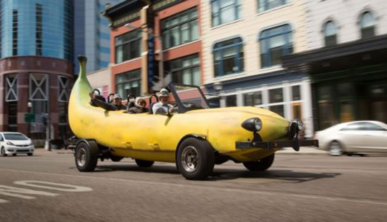 Steve Braithwaite's Banana Car