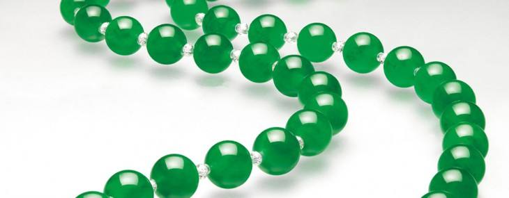 Cartier Necklace with World's Most Expensive Jade $27.44 Million