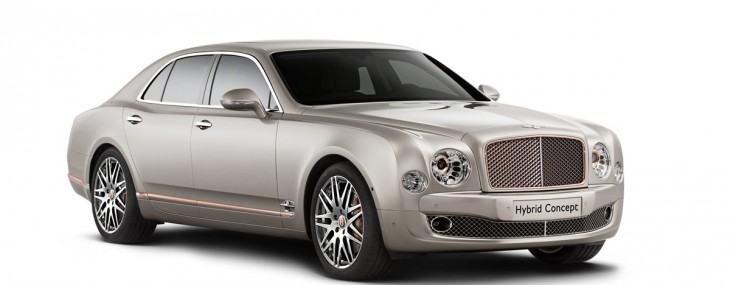 Bentley Hybrid Concept Revealed at the Beijing International Automotive Show
