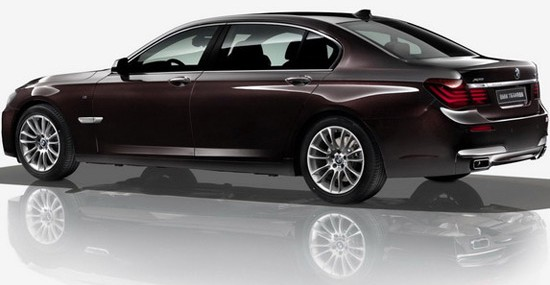 BMW 740Li xDrive Horse Special Edition At Beijing Motor Show