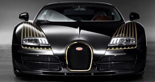 Veyron Grand Sport Vitesse Black Bess, made in honor of Bugatti Type 18 Black Bess
