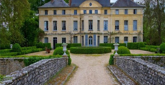 French actress Catherine Deneuve selling castle