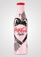 Coca Cola Light Bottle Got a Sexy Look Thanks To Chantal Thomass