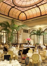 Enjoy Easter Day at the Palm Court at New York's Plaza Hotel