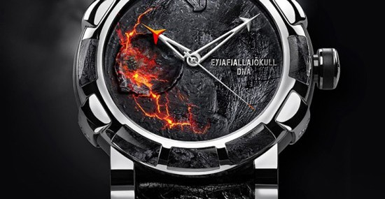 RJ-Romain Jerome unveils new Eyjafjallajökull watch