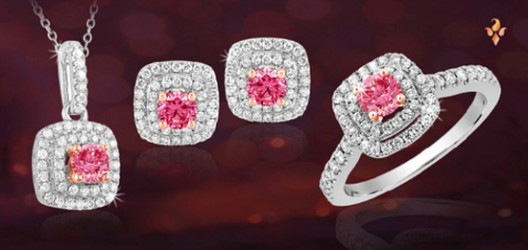 Think Pink Diamonds for Mothers Day! Fiamma Jewelry