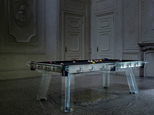 Filotto - Crystal Pool Table by Calma e Gesso
