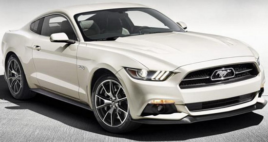 50 years of the legendary Mustang