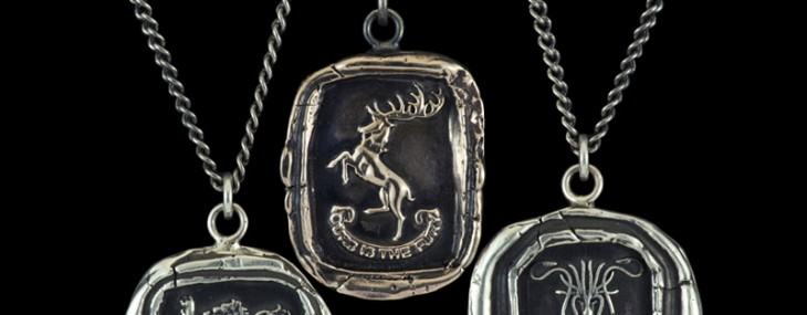 Luxurious Game of Thrones Jewelry Lets You Support Lannisters, Starks or Targaryens