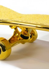 Gold Plated Skateboard by SHUT Will Cost You $15,000