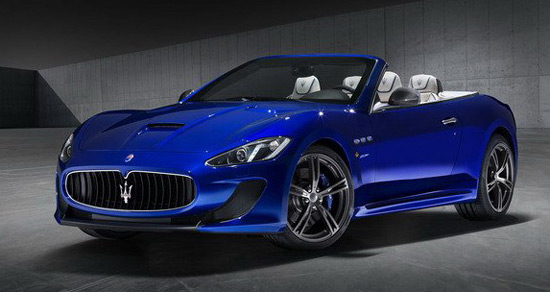 Maserati will present at the Motor Show in New York a special Centennial Edition GranTurismo MC model