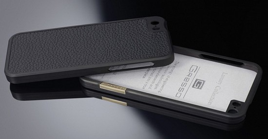 iPhone 5 Titanium Bumper Case From Gresso