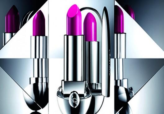 Guerlain's limited edition Rouge G lipsticks belong in a Bond movie!