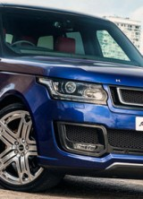 Kahn Range Rover 600-LE Luxury Edition Bali Blue
