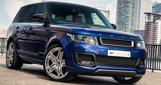 their latest creation is the Kahn Range Rover LE-600 Luxury Edition in Bali Blue color